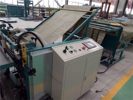 编织袋设备全自动热切缝一体机器