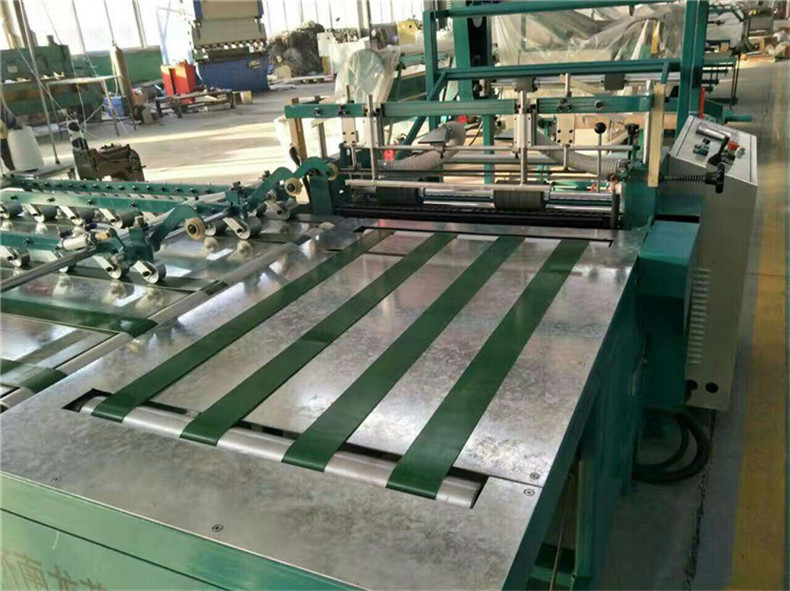 肥城编织袋设备全自动热切缝一体机器